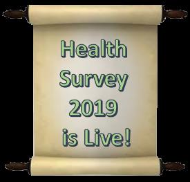 Health Survey 2019 is live