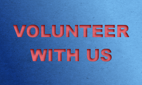 Volunteer with us and help make a difference