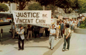 Justice for Vincent Chin protest march